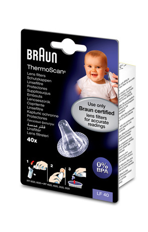 Braun ThermoScan suppilosuojat 40 kpl