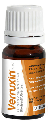Verruxin Liuos 10 ML