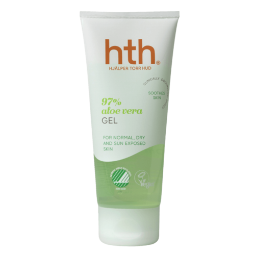 HTH 97% Aloe Vera Gel for normal, dry and sun exposed skin 100ml