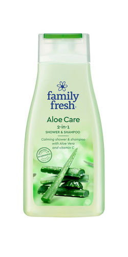 Bonus Family Fresh Aloe Care shower & shampoo suihkusaippua 500ml