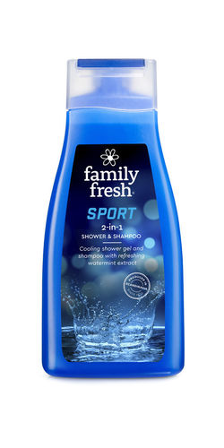 Bonus Family Fresh Sport shower & shampoo suihkusaippua 500ml