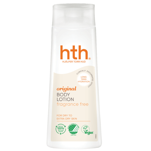 Bonus HTH Original Body Lotion fragrance free Dry to extra dry skin vartalovoide 200ml